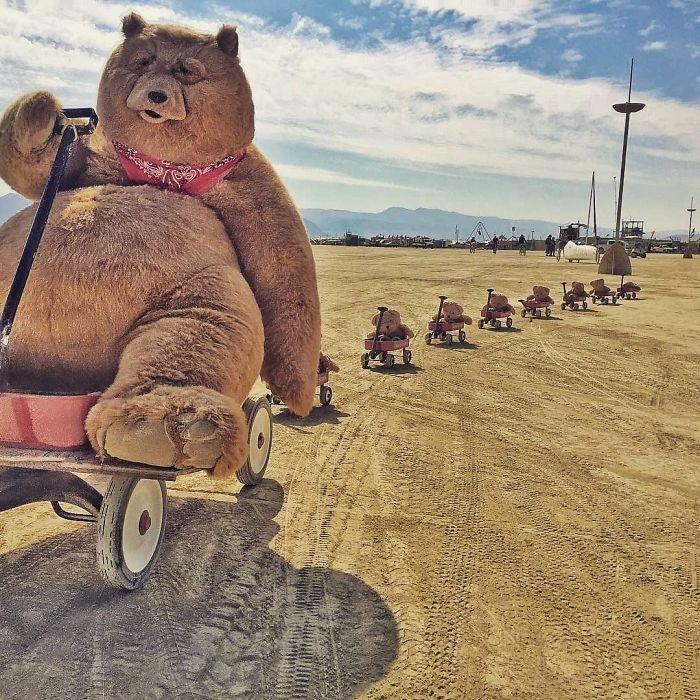 Dünyanın en sıradışı festivali: Burning Man galerisi resim 10