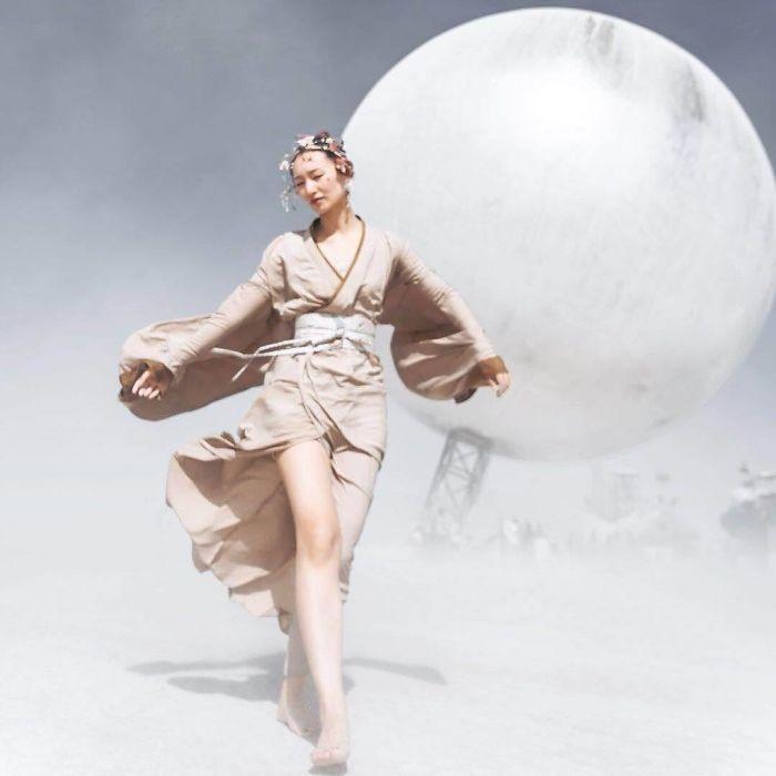 Dünyanın en sıradışı festivali: Burning Man galerisi resim 13
