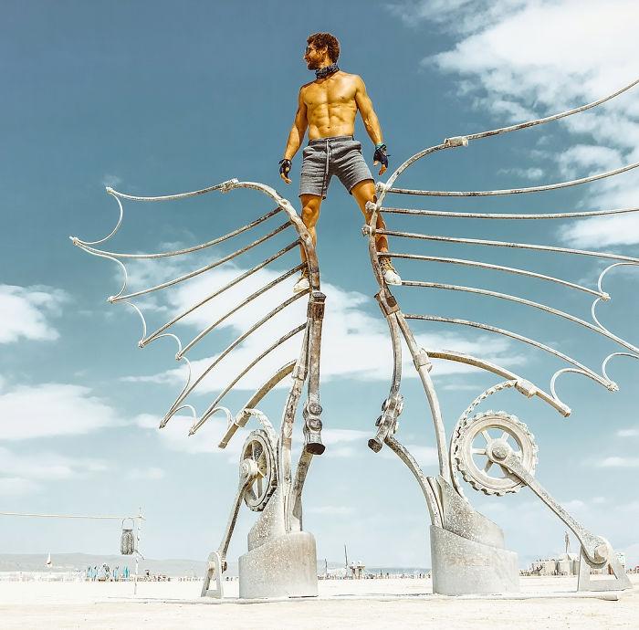 Dünyanın en sıradışı festivali: Burning Man galerisi resim 15