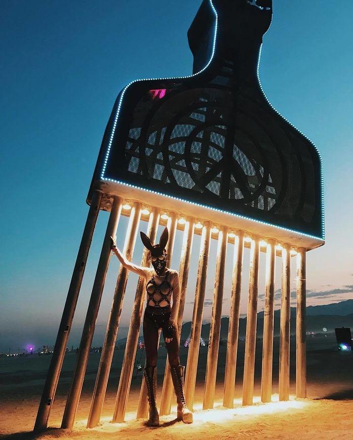 Dünyanın en sıradışı festivali: Burning Man galerisi resim 16