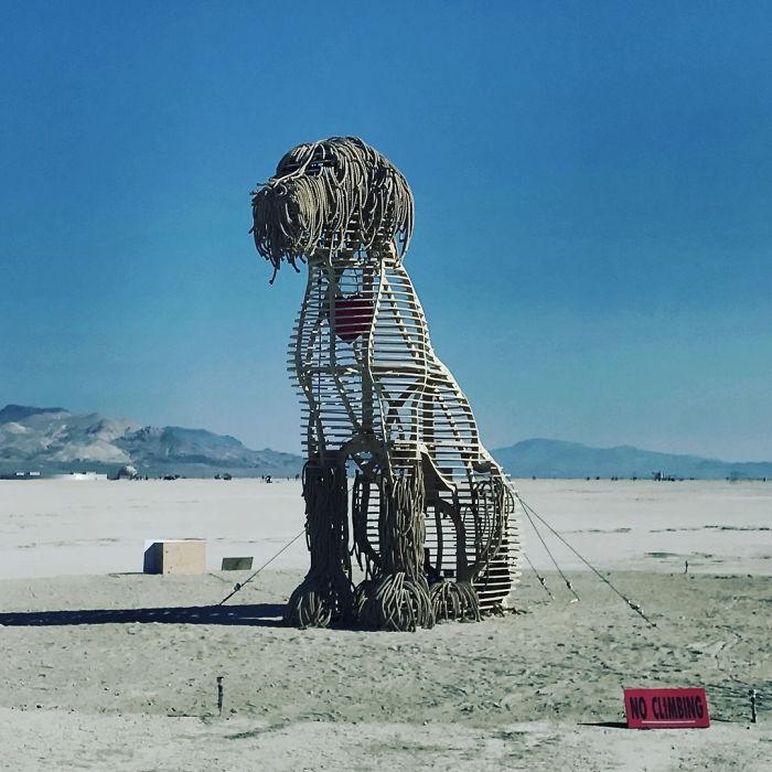 Dünyanın en sıradışı festivali: Burning Man galerisi resim 17