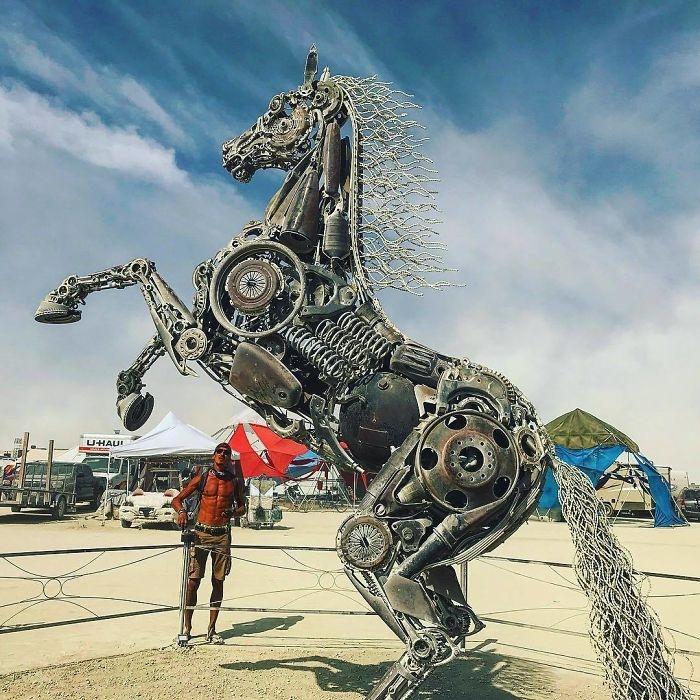 Dünyanın en sıradışı festivali: Burning Man galerisi resim 18