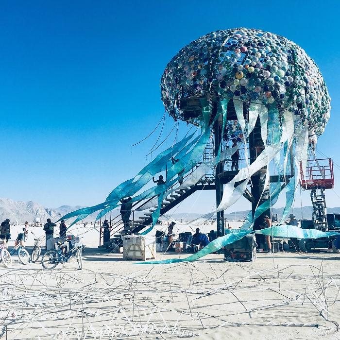 Dünyanın en sıradışı festivali: Burning Man galerisi resim 20