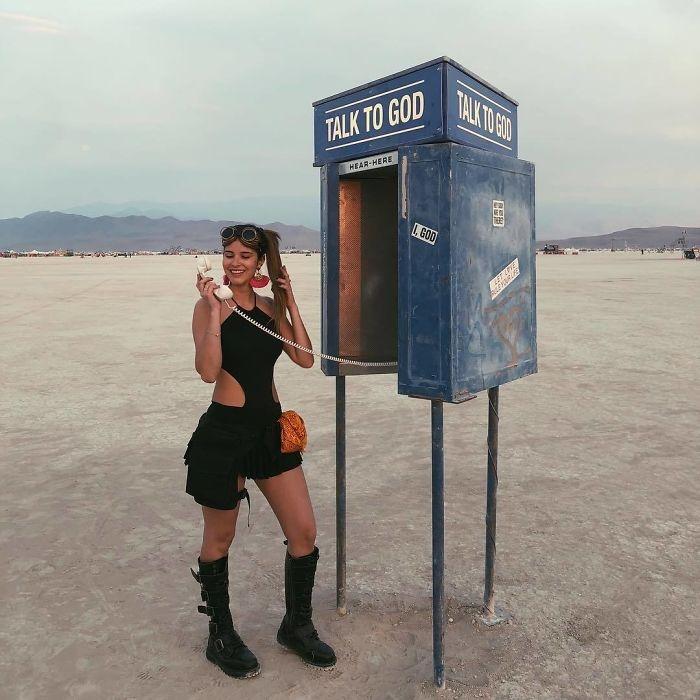Dünyanın en sıradışı festivali: Burning Man galerisi resim 26