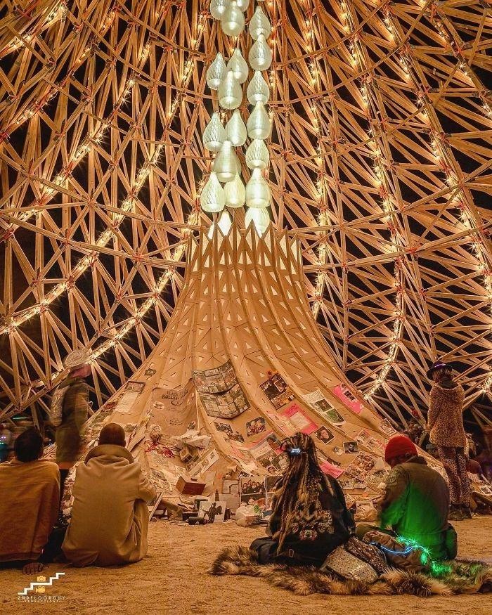 Dünyanın en sıradışı festivali: Burning Man galerisi resim 29