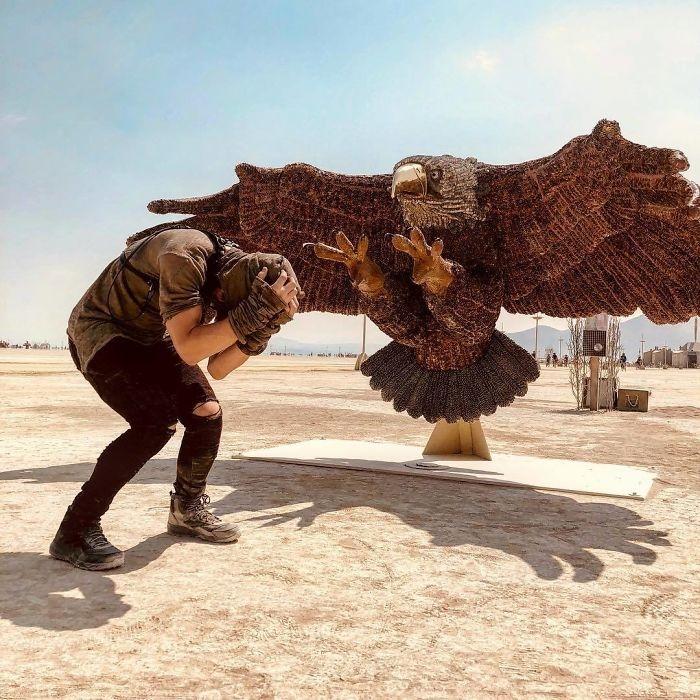 Dünyanın en sıradışı festivali: Burning Man galerisi resim 38