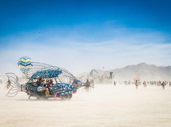 Dünyanın en sıradışı festivali: Burning Man galerisi resim 41