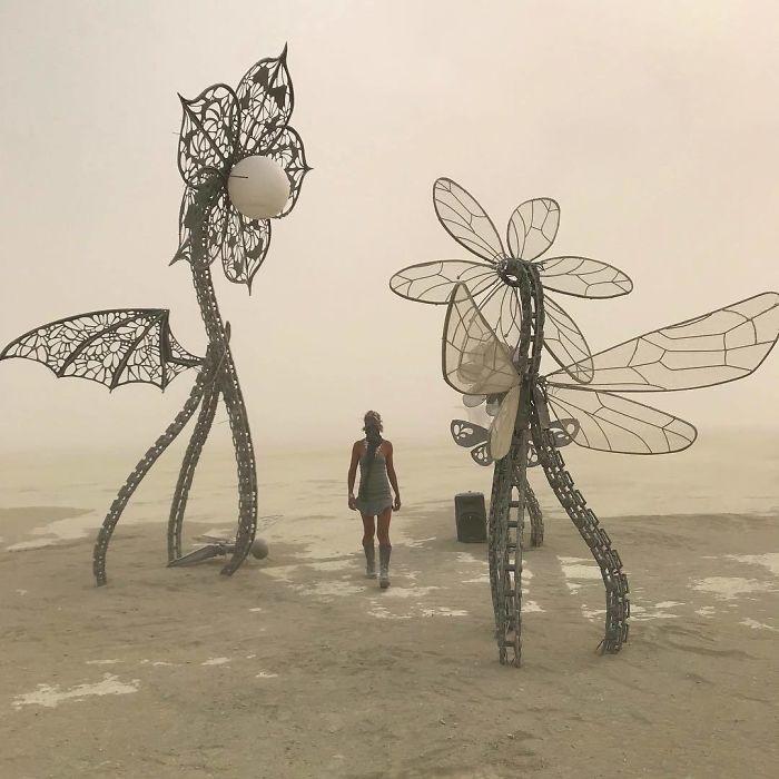 Dünyanın en sıradışı festivali: Burning Man galerisi resim 43
