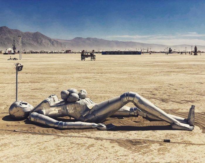Dünyanın en sıradışı festivali: Burning Man galerisi resim 44