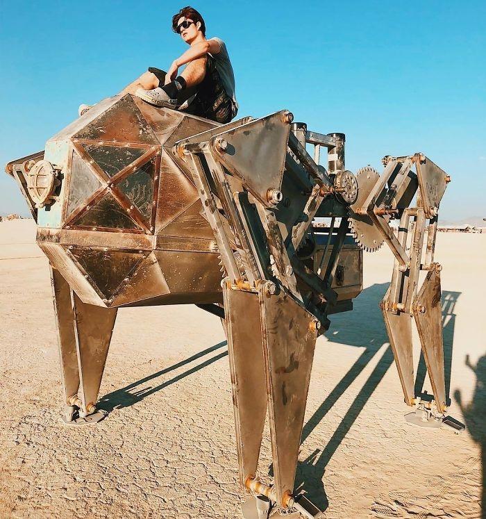 Dünyanın en sıradışı festivali: Burning Man galerisi resim 48