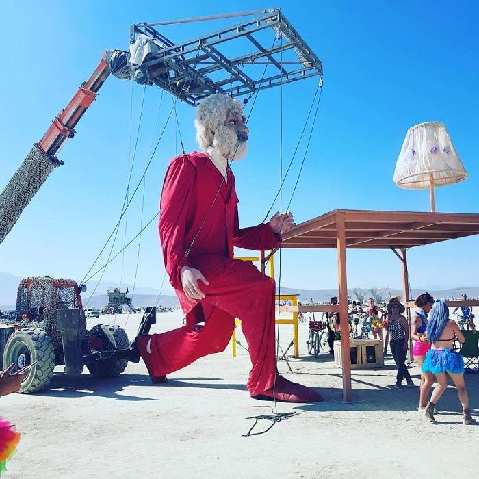 Dünyanın en sıradışı festivali: Burning Man galerisi resim 56