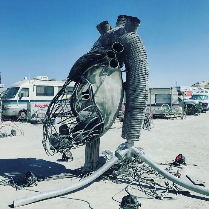 Dünyanın en sıradışı festivali: Burning Man galerisi resim 57