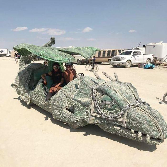 Dünyanın en sıradışı festivali: Burning Man galerisi resim 58