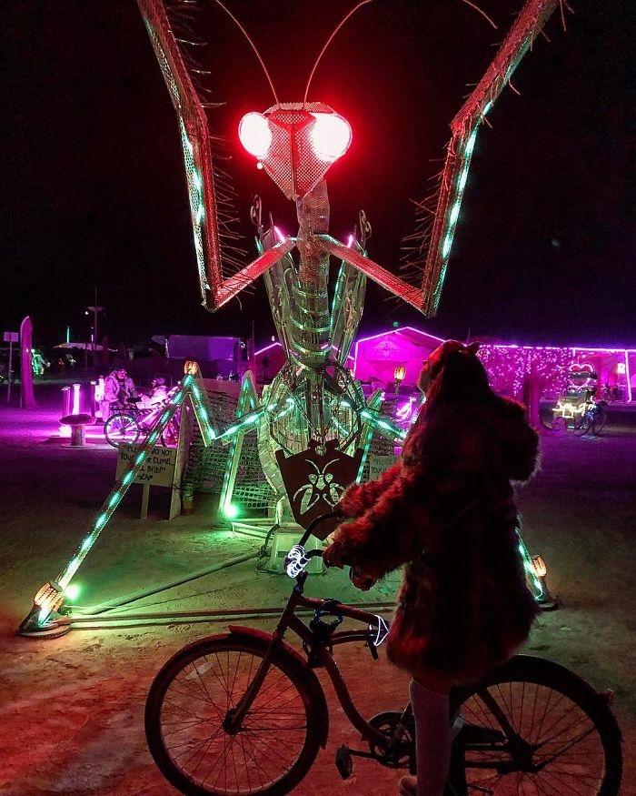 Dünyanın en sıradışı festivali: Burning Man galerisi resim 69