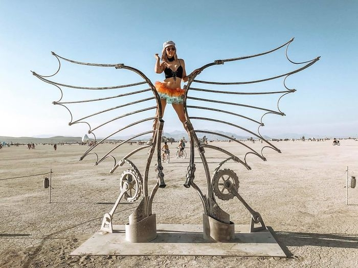 Dünyanın en sıradışı festivali: Burning Man galerisi resim 74