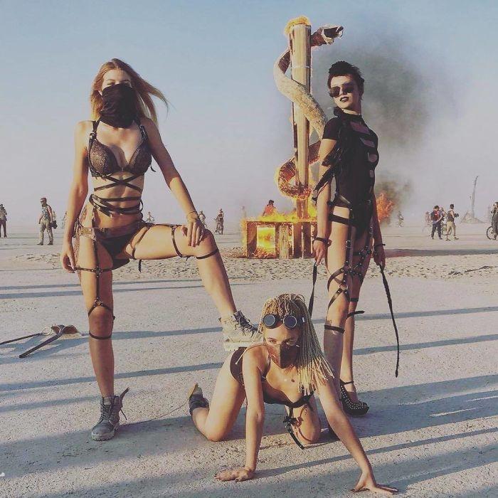 Dünyanın en sıradışı festivali: Burning Man galerisi resim 84