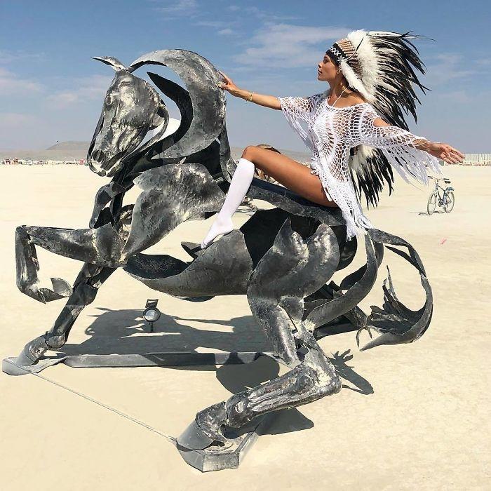 Dünyanın en sıradışı festivali: Burning Man galerisi resim 9