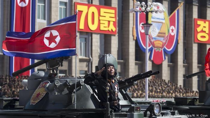 Kuzey Kore 70'inci yılını kutluyor galerisi resim 1