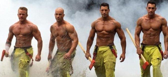 Onları gören kadınlar yangın çıkarmak istiyor