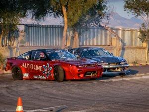 Drift yarışı yapıldı
