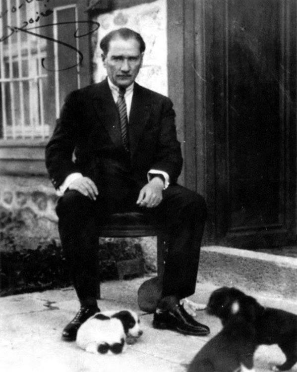 Atatürk'ün ilk kez yayınlanan fotoğrafları galerisi resim 1