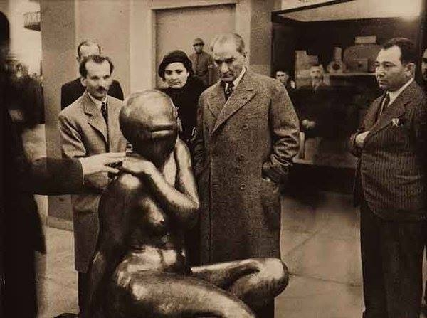 Atatürk'ün ilk kez yayınlanan fotoğrafları galerisi resim 10