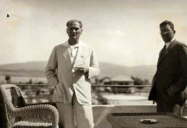 Atatürk'ün ilk kez yayınlanan fotoğrafları galerisi resim 12