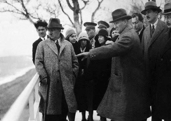 Atatürk'ün ilk kez yayınlanan fotoğrafları galerisi resim 15