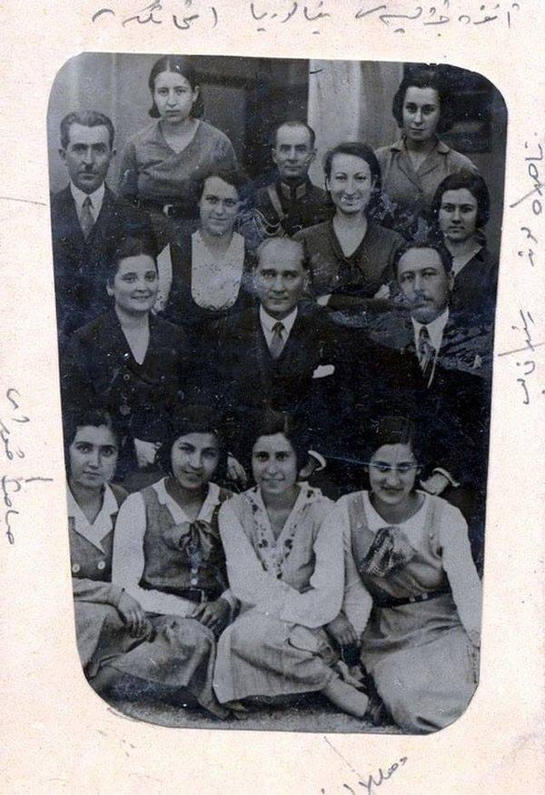 Atatürk'ün ilk kez yayınlanan fotoğrafları galerisi resim 16