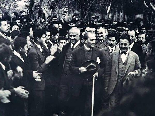 Atatürk'ün ilk kez yayınlanan fotoğrafları galerisi resim 17