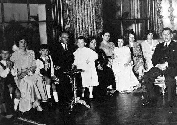 Atatürk'ün ilk kez yayınlanan fotoğrafları galerisi resim 18