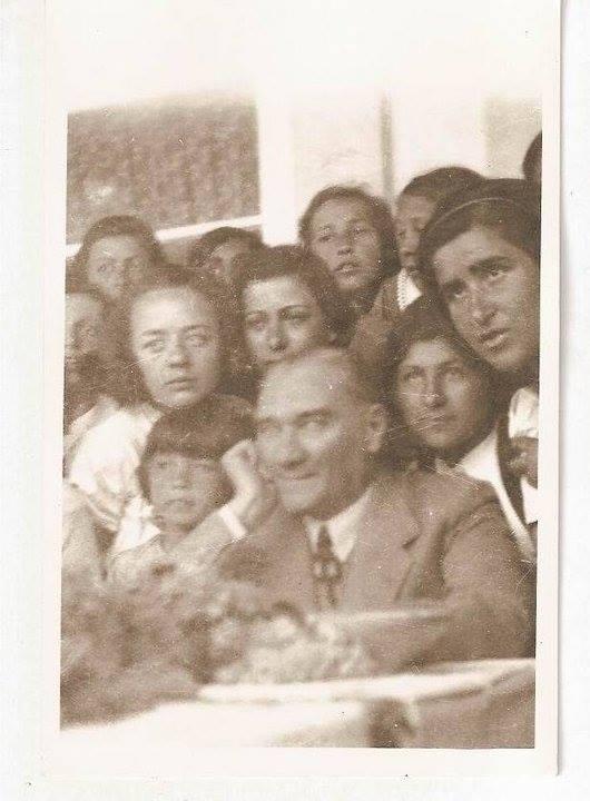 Atatürk'ün ilk kez yayınlanan fotoğrafları galerisi resim 19