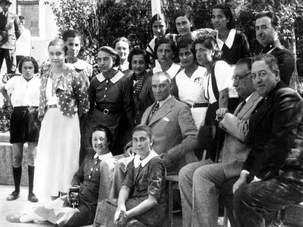 Atatürk'ün ilk kez yayınlanan fotoğrafları galerisi resim 2