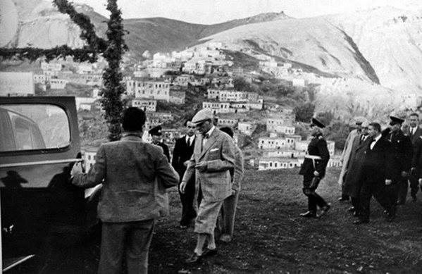 Atatürk'ün ilk kez yayınlanan fotoğrafları galerisi resim 23