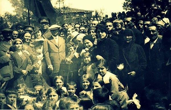 Atatürk'ün ilk kez yayınlanan fotoğrafları galerisi resim 43