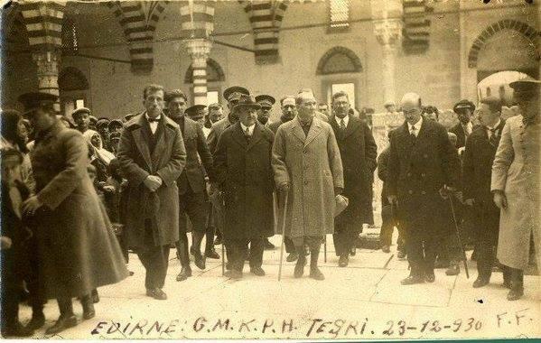 Atatürk'ün ilk kez yayınlanan fotoğrafları galerisi resim 46