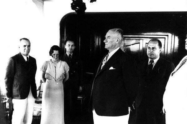 Atatürk'ün ilk kez yayınlanan fotoğrafları galerisi resim 48