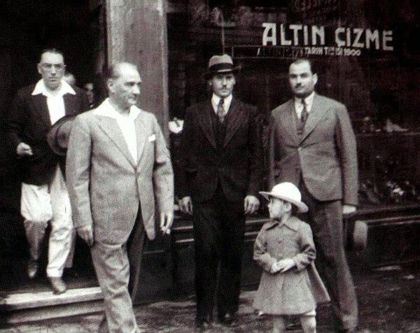 Atatürk'ün ilk kez yayınlanan fotoğrafları galerisi resim 50