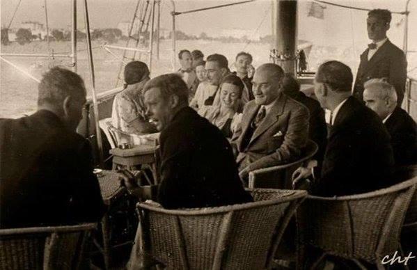 Atatürk'ün ilk kez yayınlanan fotoğrafları galerisi resim 56