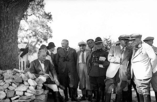 Atatürk'ün ilk kez yayınlanan fotoğrafları galerisi resim 57