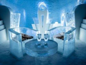 Dünyanın en gösterişli Buz Evleri