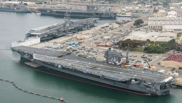ABD 13 milyar dolarlık yeni uçak gemisiyle her yere 'barış' gö galerisi resim 2