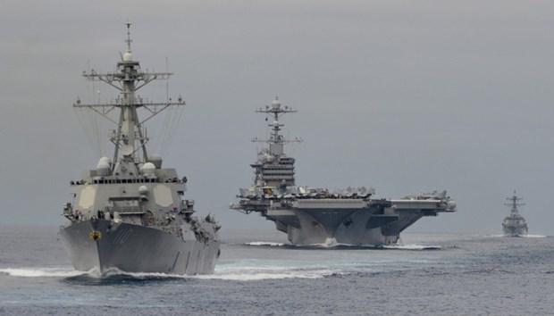 ABD 13 milyar dolarlık yeni uçak gemisiyle her yere 'barış' gö galerisi resim 3