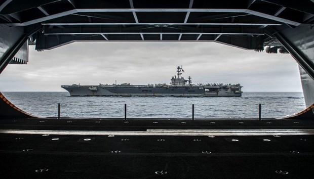 ABD 13 milyar dolarlık yeni uçak gemisiyle her yere 'barış' gö galerisi resim 4