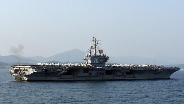 ABD 13 milyar dolarlık yeni uçak gemisiyle her yere 'barış' gö galerisi resim 5