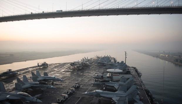 ABD 13 milyar dolarlık yeni uçak gemisiyle her yere 'barış' gö galerisi resim 6