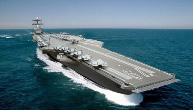ABD 13 milyar dolarlık yeni uçak gemisiyle her yere 'barış' gö galerisi resim 7