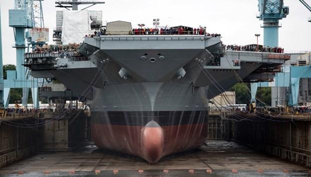 ABD 13 milyar dolarlık yeni uçak gemisiyle her yere 'barış' gö galerisi resim 8