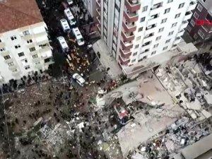 İstanbul Kartal'da 8 Katlı Bina Çöktü! 2 Kişi Öldü, 6 Kişi Yaralı O