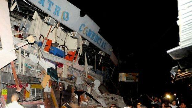 Ekvador: Depremde ölü sayısı 246'ya çıktı galerisi resim 2